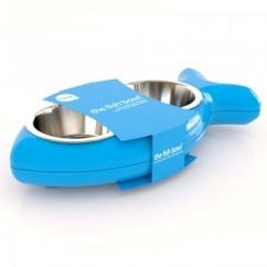 Cat Bowl Bone - Blue