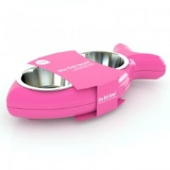 Cat Bowl Bone - Pink