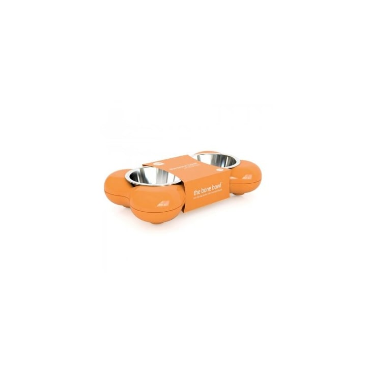 Hing Dog Bowl Bone - Orange