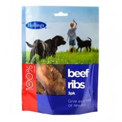 Hollings British Beef Ribs 3pk