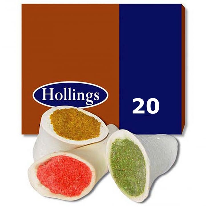 Hollings Filled Bone Assorted Flavours Box 20