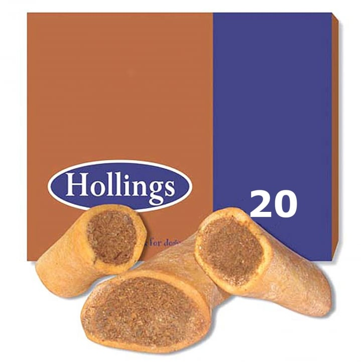 Hollings Filled Bone Smoked Box 20