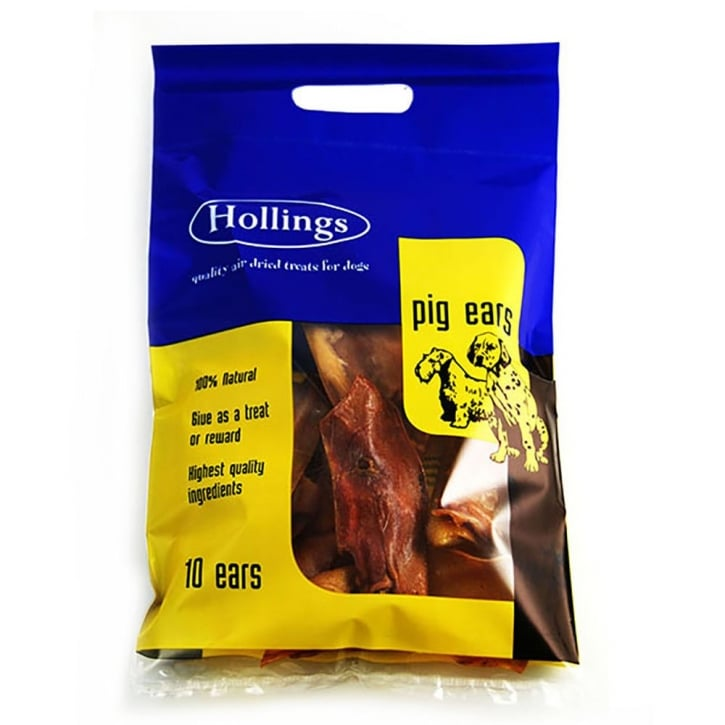 Hollings Pigs Ears Carry Bag 10pk