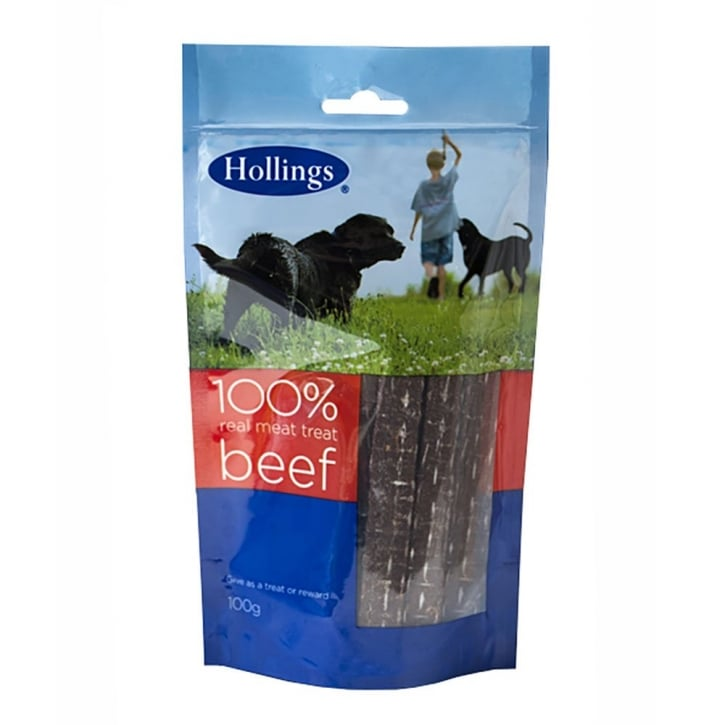Hollings Real Meat Treat Beef 100g