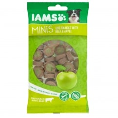Minis Dog Snacks with Beef & Apple 100g