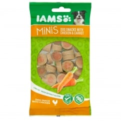 Minis Dog Snacks with Chicken & Carrot 100g