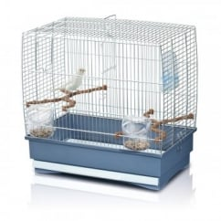 Imac Irene 2 Small Bird Cage - Chrome Bars 45cm x 27cm x 43cm