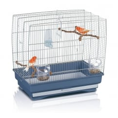 Irene 3 Small Bird Cage Chrome Bars 51x30x48cm (20x12x19