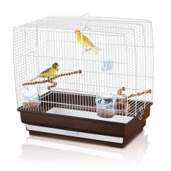 Irene 3 Small Bird Cage White 51x30x48cm (20x12x19