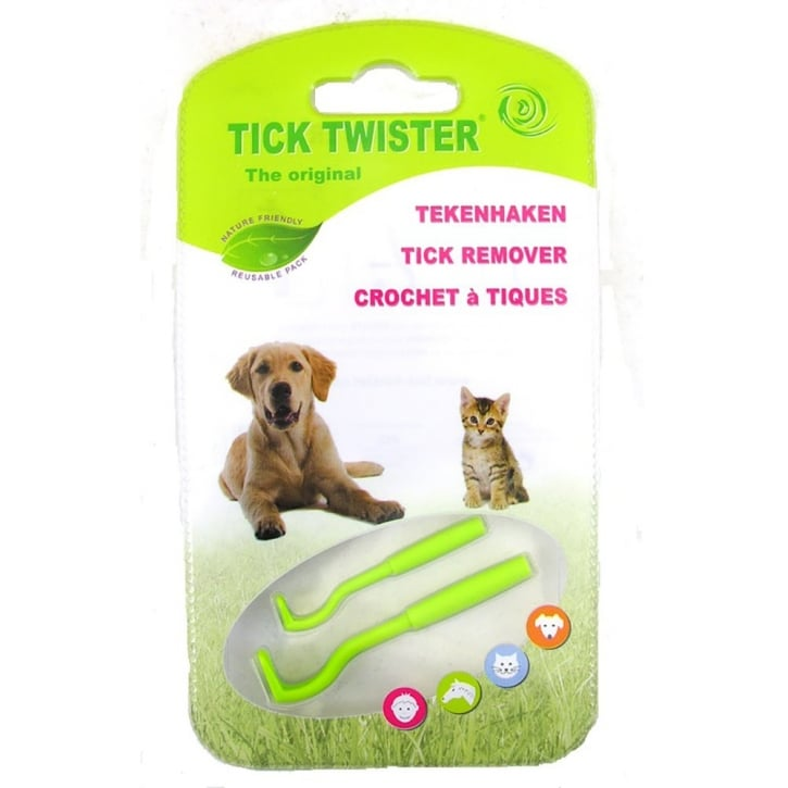 J.A.K Marketing O'Tom Tick Twister Plastic Tick Remover Pack 2