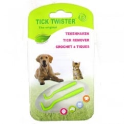 O'Tom Tick Twister Plastic Tick Remover Pack 2