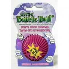 James & Steel Pet Qwerks Small Babble Ball Talking - Kitty - 6 Different Sounds
