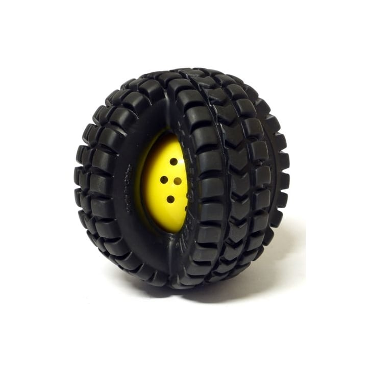 James & Steel Pet Qwerks Small Babble Ball X Tire Animal Sounds Dog Play Toy - 3.5