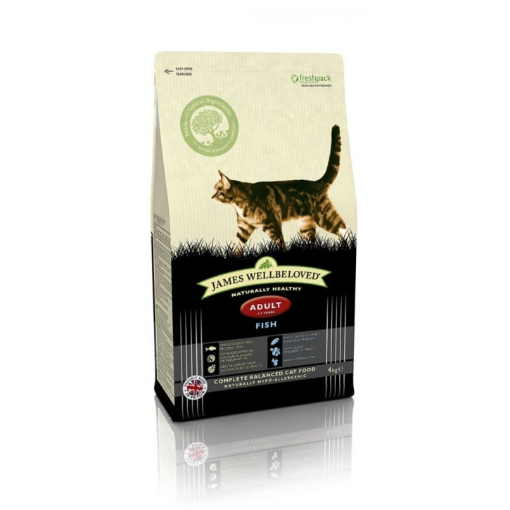 James Wellbeloved Adult Cat Fish & Rice Cat Food 4kg