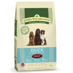 Adult Duck & Rice Dog Food 7.5kg