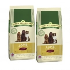 Adult Lamb & Rice Dog Food 2 x 15kg