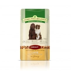 James Wellbeloved Adult Lamb with Rice & Vegetable Pouch 150g