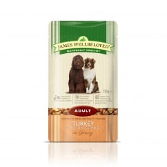 James Wellbeloved Adult Turkey with Rice & Vegetable Pouch 150g
