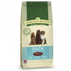 Duck & Rice Adult Dog Food 2kg