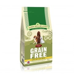 James Wellbeloved Grain Free Adult Lamb & Vegetable Dog Food 10kg