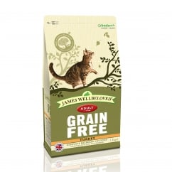 James Wellbeloved Grain Free Adult Turkey Cat Food 1.5kg