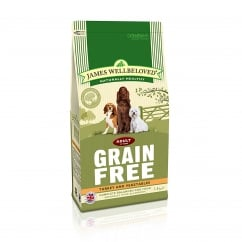 Grain Free Adult Turkey & Vegetable Dog Food 1.5kg