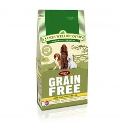James Wellbeloved Grain Free Lamb & Vegetable Adult Dog Food 1.5kg