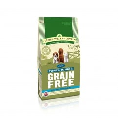 Grain Free Puppy/Junior Fish & Vegetable Dog Food 1.5kg