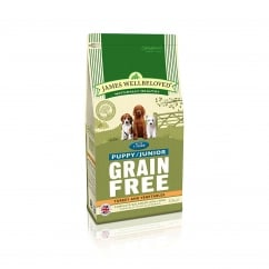 Grain Free Puppy/Junior Turkey & Vegetable Dog Food 1.5kg