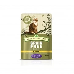 Grain Free Senior Lamb Cat Pouch 12 x 85g