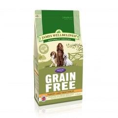 Grain Free Senior Turkey & Vegetable Dog Food 1.5kg