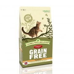 Grain Free Turkey Adult Cat Food 300g