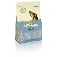 James Wellbeloved Hairball Turkey & Rice Cat Food 300g