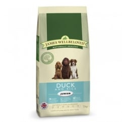 Junior Duck & Rice Dog Food 15kg