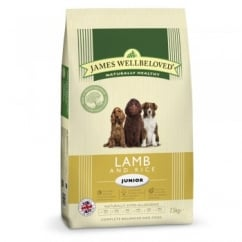 Junior Lamb & Rice Dog Food 7.5kg