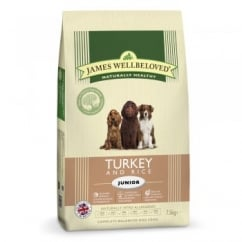Junior Turkey & Rice Dog Food 7.5kg