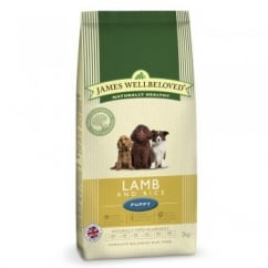 James Wellbeloved Lamb & Rice Puppy Food 2kg