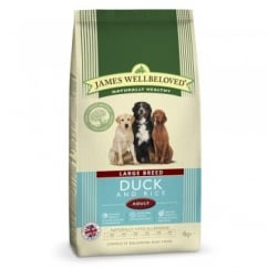 Large Breed Adult Duck & Rice Dog Food 4kg
