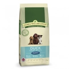 Puppy Duck & Rice Dog Food 15kg