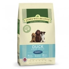 Puppy Duck & Rice Dog Food 7.5kg