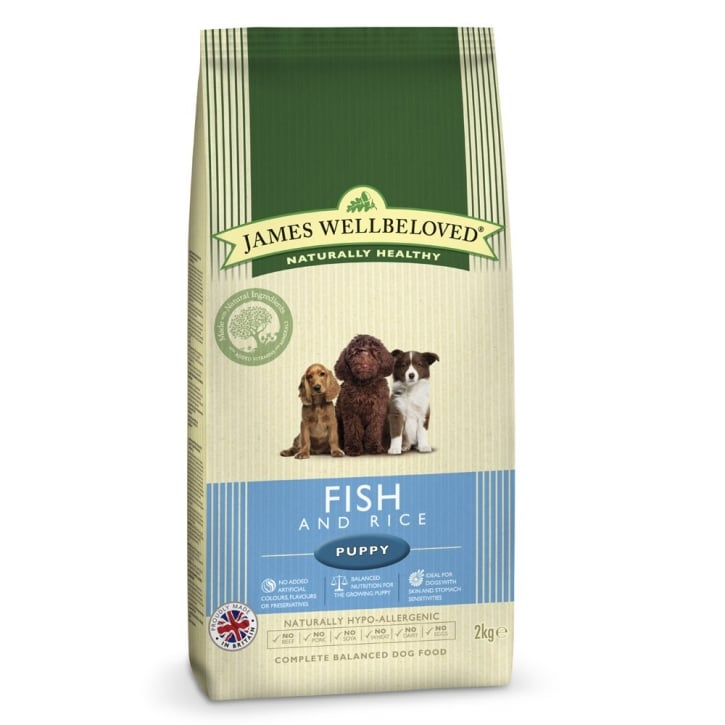 James Wellbeloved Puppy Fish & Rice Dog Food 2kg