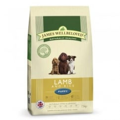 James Wellbeloved Puppy Lamb & Rice Dog Food 7.5kg