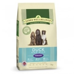 Senior Duck & Rice Dog Food 7.5kg