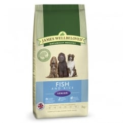 James Wellbeloved Senior Fish & Rice Dog Food 2kg