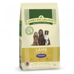 Senior Lamb & Rice Dog Food 7.5kg