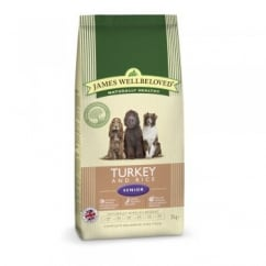 James Wellbeloved Senior Turkey & Rice Dog Food 2kg