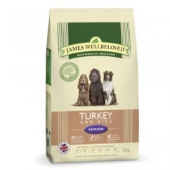 Senior Turkey & Rice Dog Food 7.5kg