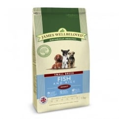 Small Breed Adult Fish & Rice Dog Food 1.5kg