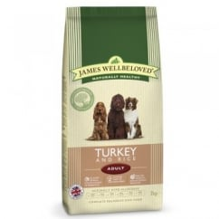 Turkey & Rice Adult Dog Food 2kg