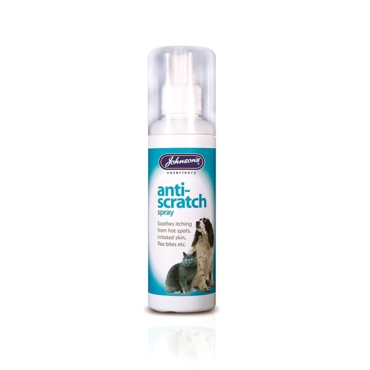 Johnsons Veterinary Anti-Scratch Spray for Dogs & Cats 100ml